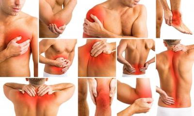 Fibromyalgie zones de douleur