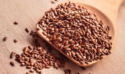Flax seeds for alopecia
