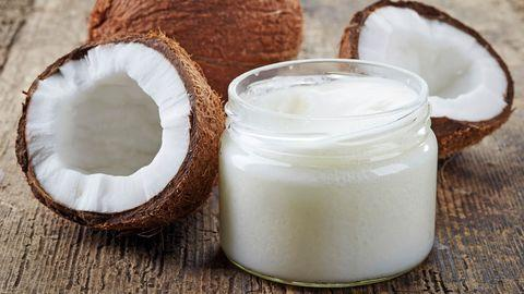 Coconut oil for alopecia
