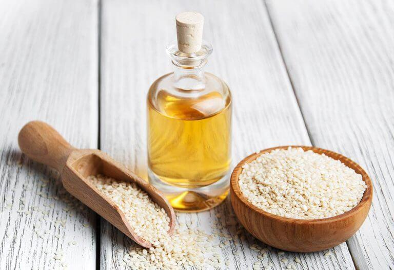 Sesame oil for alopecia