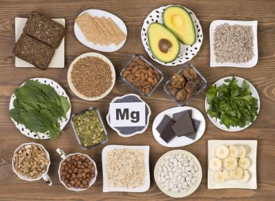Magnesium aliments