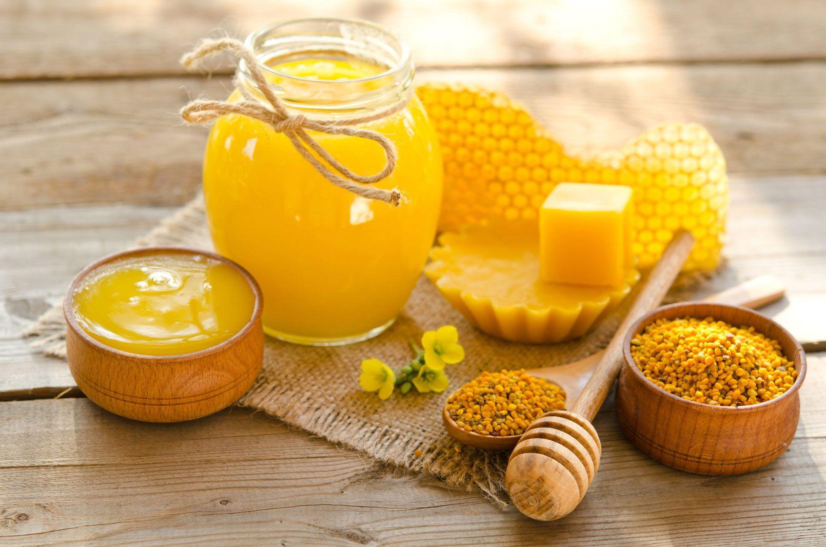 Miel pollen gelee royale ils soignent