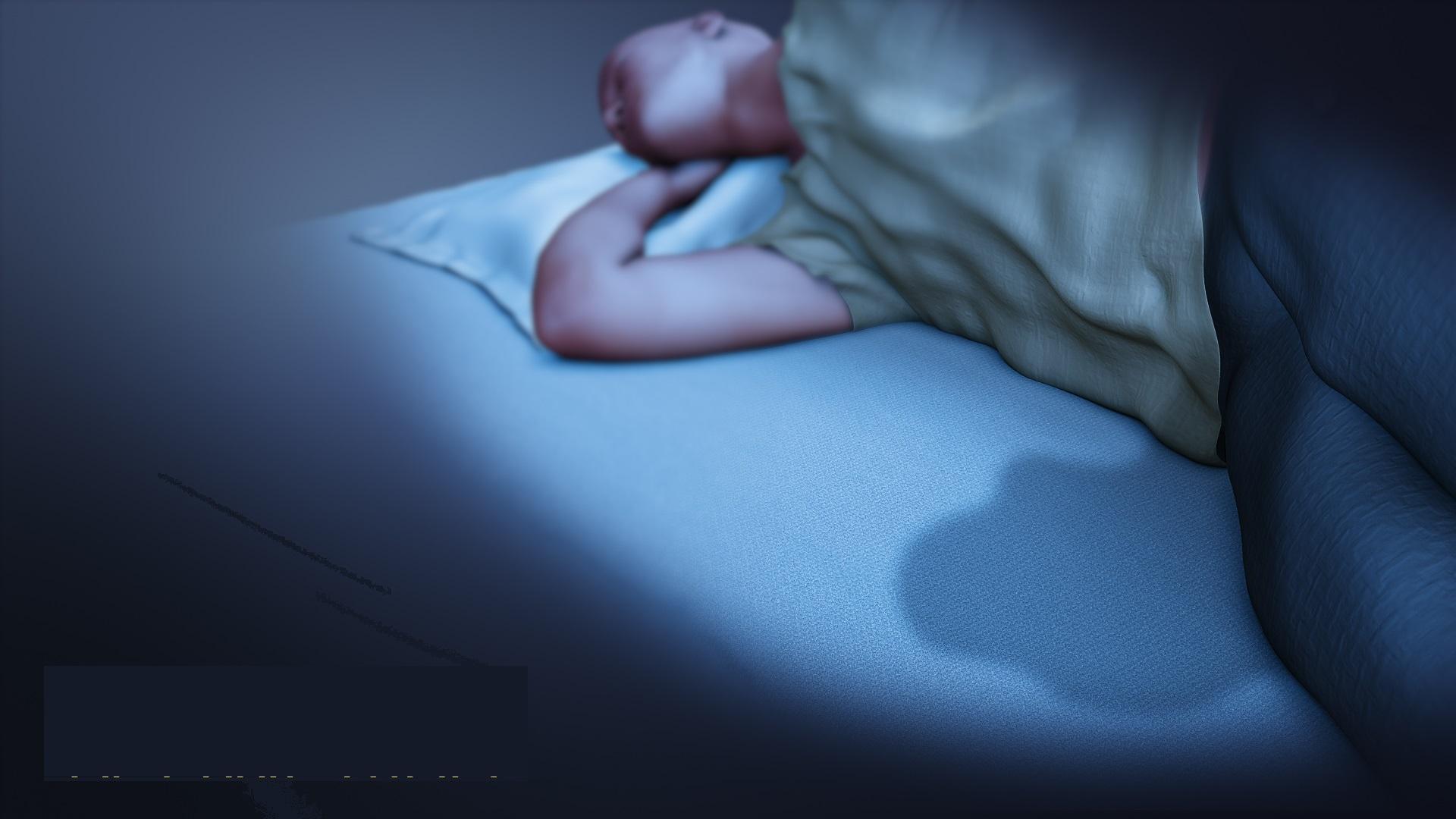 Sleep wetting
